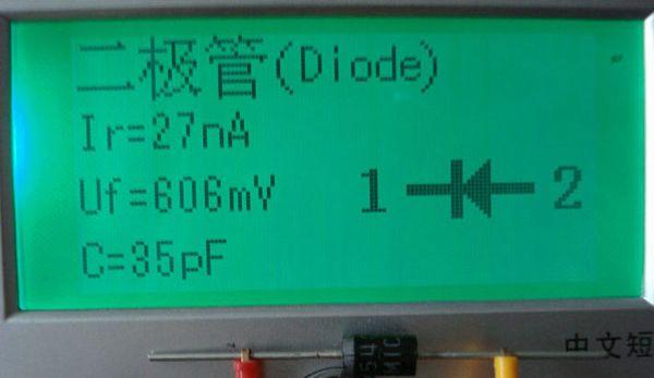 Пример тестирования диода 1N5408