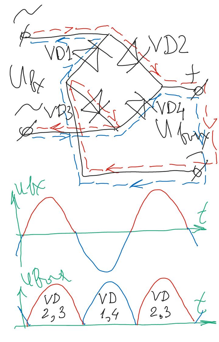 Как подключить диодный мост