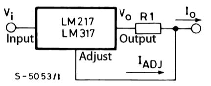 LM317T стабилизатор тока для светодиодов