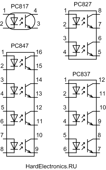 pc817 цоколевка