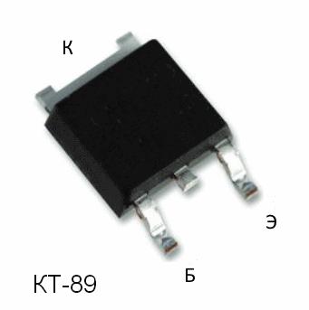 КТ815 цоколевка поверхностного монтажа