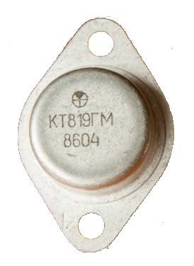 КТ819ГМ в корпусе КТ-9
