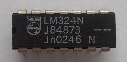 микросхема LM324N производства TI