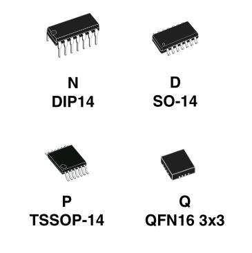 микросхема LM324